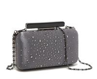 Promotion 2014 New Fashion Women Handbags Elegant Shiny 3D Evening Bags Cosmetic Bag Top Quality Party Day Clutches Purse Bolsas