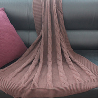 flower yarn blanket cape blanket decoration blanket knitted sofa