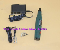 12V (110~240V) Mini Electric Drill/Electric Grinder for Grinding Engraving Drilling with 30pcs Grinding Bits