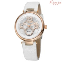 2015 Summer Arrival Kimio Mature Women Genuine Leather Watches Girls Watches Free Shipping