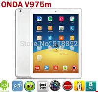 Onda V975M v4 9.7 inch Quad Core Tablets Cortex A9 2.0GHz Retina Screen 2048x1536 2GB/32GB HDMI Bluetooth Android 4.3