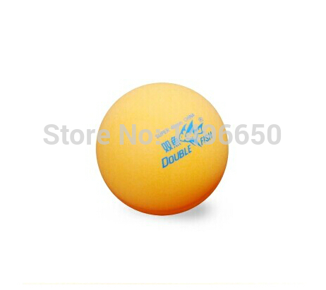 Free Shipping Orange Color Double Fish table tennis pingpong table tennis ball pingpong ball(China (Mainland))