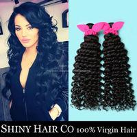 1 Bundle Malaysian Virgin Hair Deep Wave Natural Black 6A Unprocessed Human Hair Weave Vip Beauty Hair Malaysian Curly King Hair