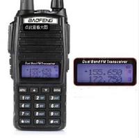 Freeship+Baofeng UV 82 Walkie-Talkie Pofung UV-82L uv82 5W Radio amateur 128CH VHF+UHF VOX Dual Band 2 Way Radio+Eliminator