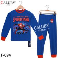 Hotsale Winter Long Sleeve Boys Pajamas Children Cartoon Pyjamas Sleepwears 5sets/Lot For Big Boy 8-12Y In Stock Free Shipping