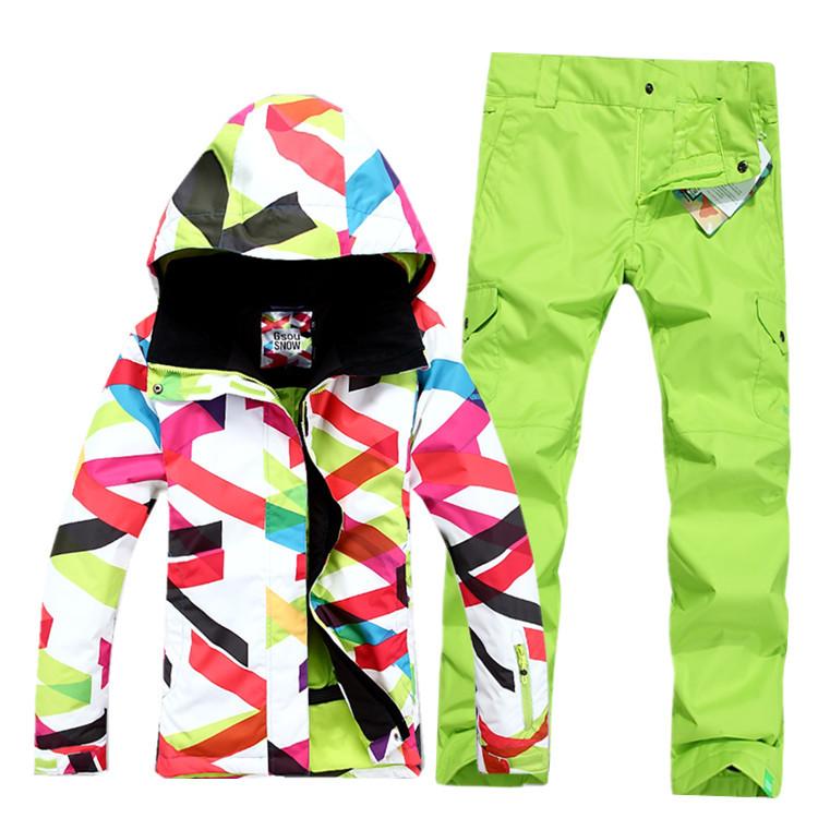 Womens Snowboard Jacket And Pants Jacket Snowboarding Pants