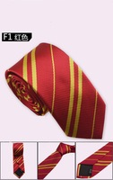 High Quality Wholesale&Retail 4 Colors Red Yellow Blue Green Striped Men's Tie Necktie Business Party Wedding Gift Drop Shipping