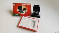 free shipping White Whiskey Stones, 9pcs/set with delicate box+velvet bag whisky whiskey white rocks stones cube stone