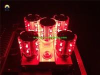 new and hot  wireless dmx led light 12*10w rgbw led corn light bulb