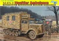 Dragon model 6766 1/35 WWII Sd.Kfz.3 Maultier Ambulance