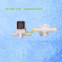 SV-H41 1/4inch Plastic Solenoid Valve NON-Pressurized 12V DC Actuator of Hall Flow Sensor Always OFF