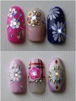 new nail art products NFC nail sensor shinning blink sticker
