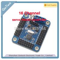 new arrival 16 Channel mini USB Servo Motor Controller servomotor board for Arduino support PS2 / WIFI