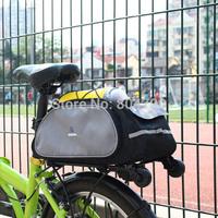 Cycling MTB Bike Bicycle Back Shelf Bags Bicycle Accessories Bike Riding Bag Multifunctional Bag 13L