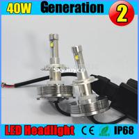 60W CREE AUTO LED Headlight Conversion Car Kit H4 hi lo spot beam /flood beam 3000LM 12V 24V 6000K h4 cree led