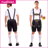 Drop Shipping Men German Oktoberfest/Octoberfest Beer Costumes Fancy Beer Fest Costumes Plus Size M L XL 1