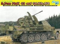 Dragon model 6553 1/35 3.7cm Flak 43 Auf Sd Kfz 7/2 Half Track