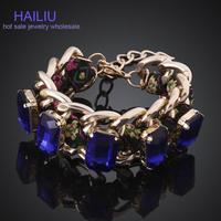 MCB021New Style Fashion Bracelet Handmade Shiny Women Crystal Bracelet