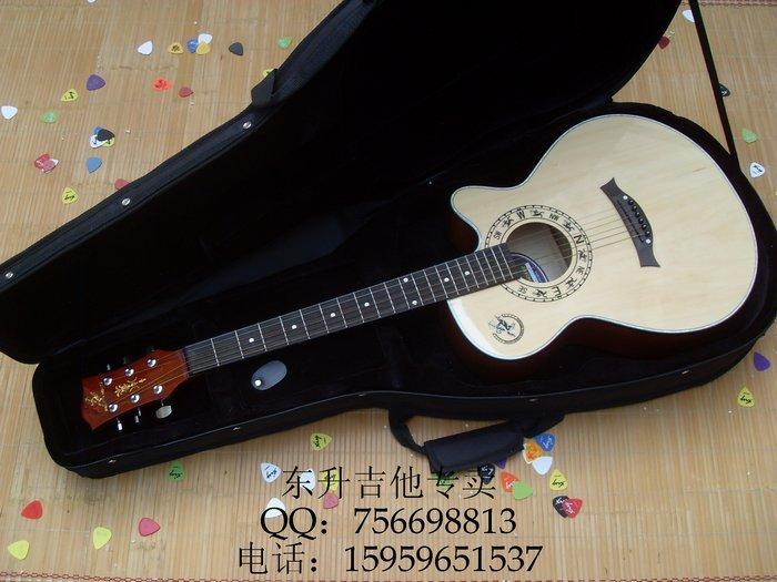 Ballads xingma 40 wood guitar super-elevation guitar log voice(China (Mainland))