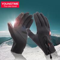 Fishing Gloves mountain climbing fleece gloves mountaineering outdoor waterproof full refers to mountaineering gloves skidproof