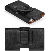 Leather Pouch Holster Belt Magnectic Clip Case Full Skin Flip Cover Holder For  DOOGEE DAGGER DG550 MTK6592,High Quality