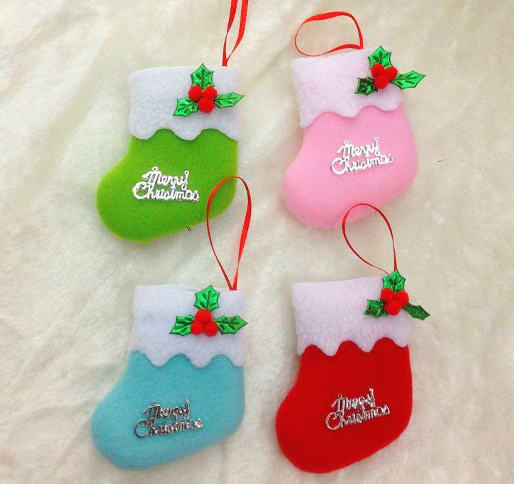 Рождественские украшения Christmas stocking Enfeites сапоги vivian royal vivian royal vi809awytx60