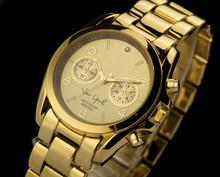 Luxury Fashion lady man dress watch Noble Elegant clock Bracelet Wristwatch High Quality Stainless steel quartz