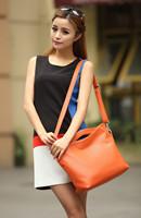 2014 women messenger bag new women handbag fashion genuine leather bag portable shoulder bag cross-body bolsas women leather bag