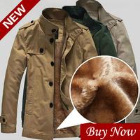 Winter Man Trench Coat For Mens Cheap Casual Military Jacket Male Manteau Homme Abrigos de Casaco Longo Masculino Hombre La A026