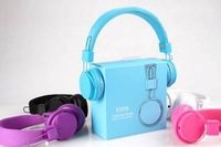 Free shipping High Quality Headphone EX09i with Mic for mobile phone By Post