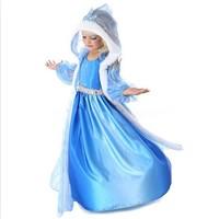 Free shipping  Hot selling New 2014 frozen dress for girl, elsa dress  Christmas dress for girls