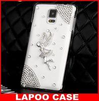 Bling 3D Flying Angel Crystal Diamond Case For Samsung Galaxy Note 4 diamond case for samsung galaxy note 4