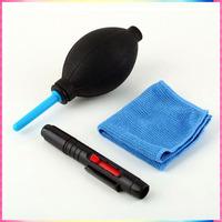 Professional 3 in 1 Lenspen Cleaning Pen Kit Dust Cleaner for Camera Camcorder DSLR VCR Lens Filter