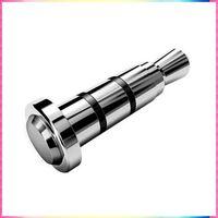 Quick Click Button Smart 3.5mm Key Dustproof Plug Earphone Jack Plug for Andriod Smartphone