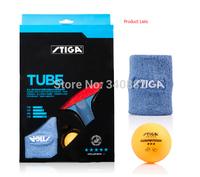 1pcs stiga table tennis racket Model Tube stiga s5 pimples in rubber 5 star pingpong racket finished table tennis bat