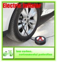 The new portable car air pump car / bike / motorbike / Basketball inflatable pump / electric pump / black / 850g