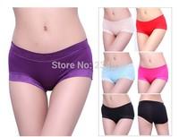 Large size victoria underwear women's bamboo fiber underwear 95% + 5% spandex  sexy intimate female underwear