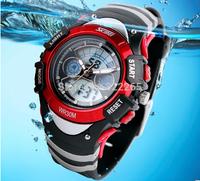 Fashion SKMEI Brand Children Sports Watches LED Digital Quartz Swim Watch Student Military Multifunctional Wristwatches