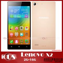 New Original Lenovo Vibe X2 4G TD-LTE 2GB RAM 16GB ROM Smart Phone Android 4.4 MTK6595 Octa Core 5″ screen 1920*1080 13MP Camera