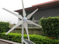 1pcs 6 blades DC12V 24V wind generator 300w garden windmill micro wind turbine