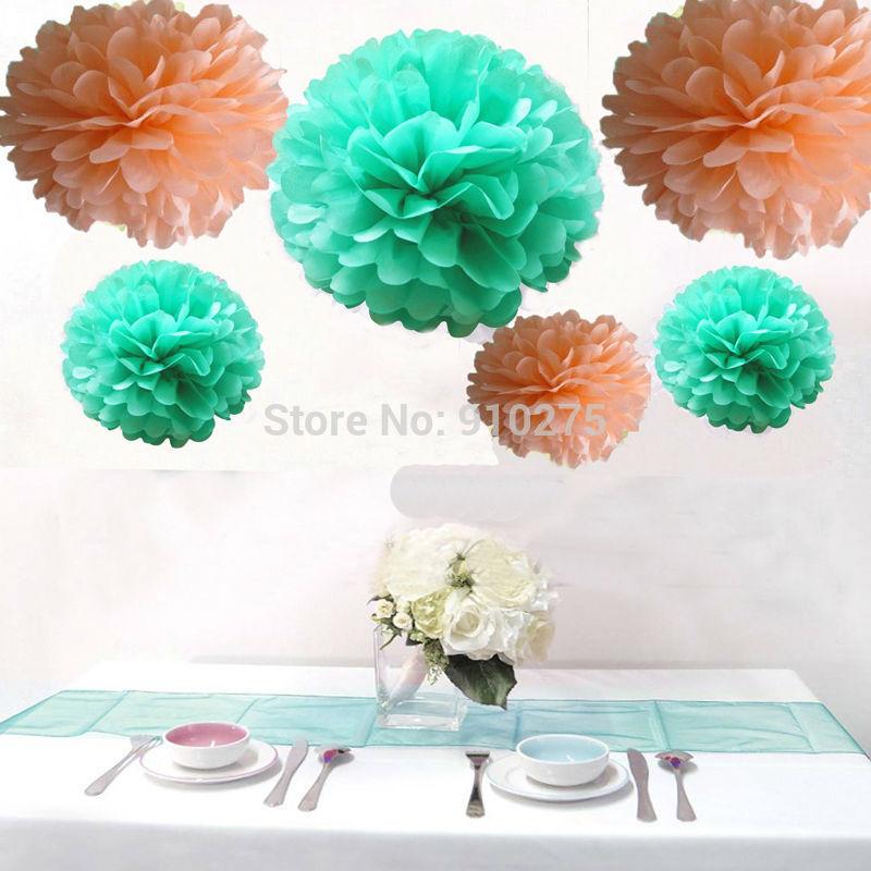 Online kopen wholesale mintgroen decoraties uit china mintgroen decoraties groothandel - Kleur gemengde kamer ...