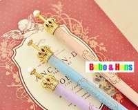 New type cute crown ball pen / Fashion lady Style pen / Promotion / Wholesale