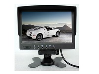 7 inch quad monitor,flip down,digital LCD screen for truck,trailer,van,bus,towing vehicle,lorry,coach