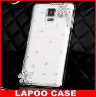 Bling 3D Flower Crystal Diamond Case For Samsung Galaxy Note 4 Diamond Case For Samsung Galaxy Note4