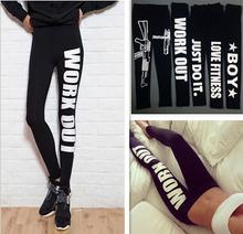 Deportes Leggings Moda arriba elástico pantalones S -XL de las nuevas mujeres de la primavera-verano cómodo Cultivar Moralidad Pantalones Leggings(China (Mainland))