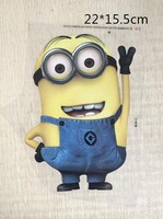 Free shipping / 22*15.5 cm soy beans / Despicable me2 cartoon pyrograph / wholesale