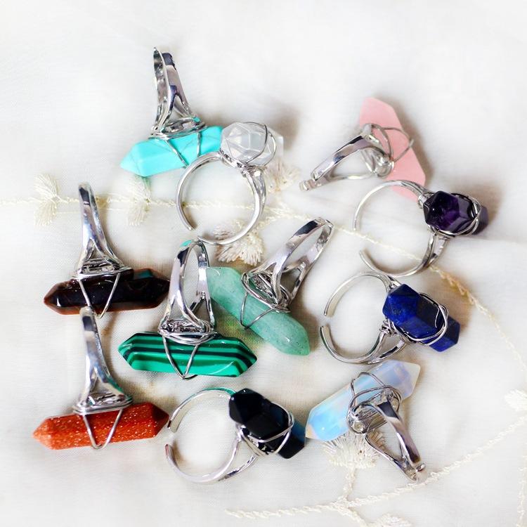 Quartz Crystal Jewelry Jewelry Women Quartz Ring
