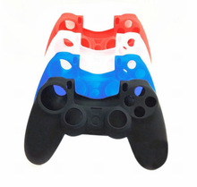 2014 New Silicone Skin Cover Case Protection Skin For SONY Playstation 4 PS4 Dualshock 4 Controller(China (Mainland))