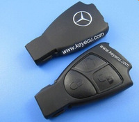 Free shipping by HKP MOQ:1pc Benz smart  auto car key shell or case 3-button