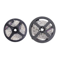 10M 2x5M/roll RGB 3528 SMD Flexible not waterproof 600 LED Strip Light + 48 key IR Remote Control